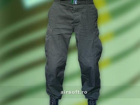Pantaloni Model Ripstop (NEGRU) imagine