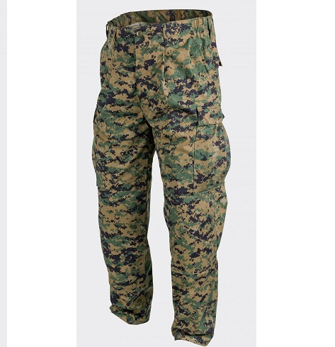 PANTALONI MODEL USMC RIPSTOP WOODLAND DIGITAL