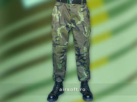 PANTALONI MODEL US BDU FIELD (WOODLAND CEH)