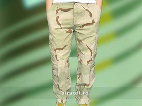 Pantaloni Dama - Model Ripstop Prespalati (DESERT 3) imagine