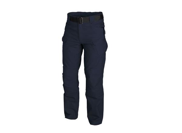 Pantaloni Model Utl Polycotton Canvas - Navy Blue imagine