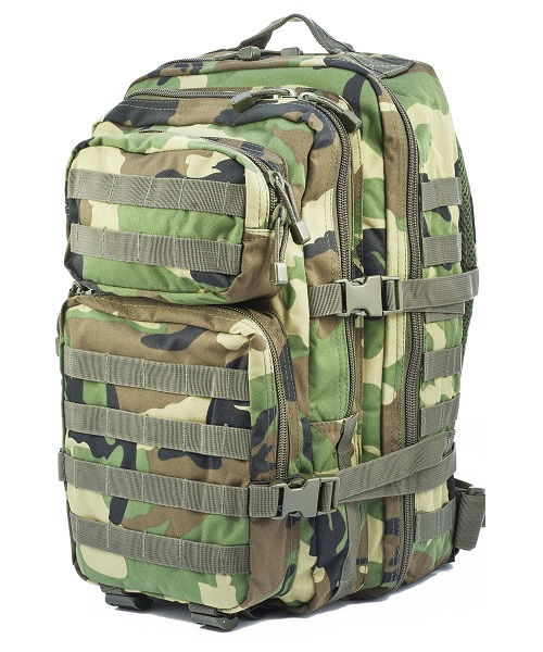 Rucsac De Asalt Model U.S.- Woodland - Large imagine