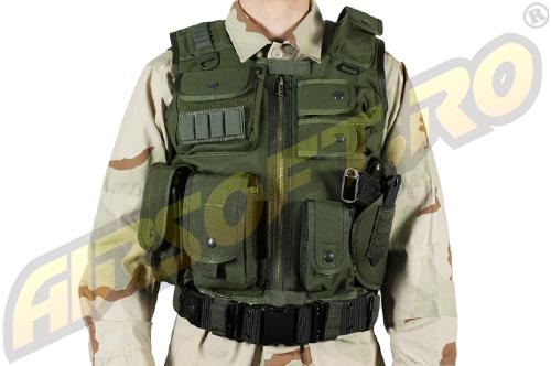 VESTA TACTICA MODEL SWAT - VERDE