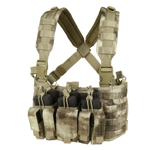 VESTA TACTICA - RECON CHEST RIG - A-TACS AU
