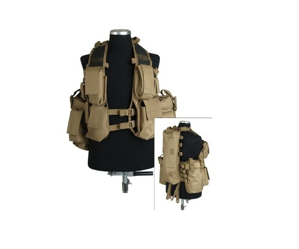 VESTA TACTICA MODEL BACK PACK (COYOTE)