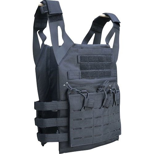 VESTA TACTICA - OPS PLATE CARRIER - BLACK