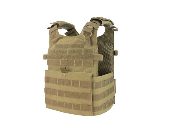 VESTA TACTICA - PLATE CARRIER - COYOTE BROWN