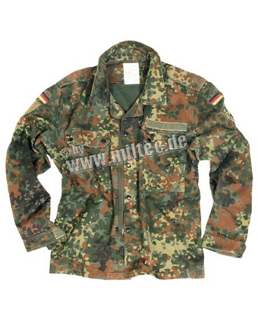VESTON FLECKTARN (SURPLUS MILITAR)