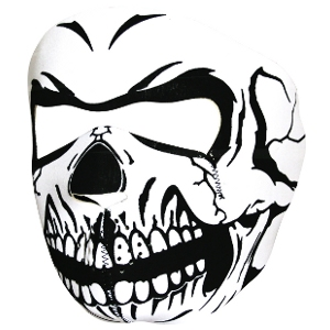 Masca De Protectie Din Neopren - Full Face - Skull imagine