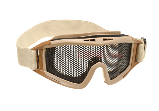 Ochelari De Protectie Model Dlg Steel Mesh - Tan imagine