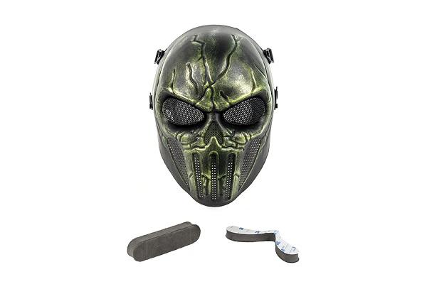 Masca Completa Model Punisher - Verde imagine