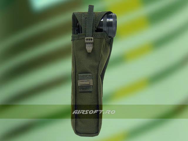 TEACA PENTRU LANTERNA - MODEL US ARMY (OLIV)