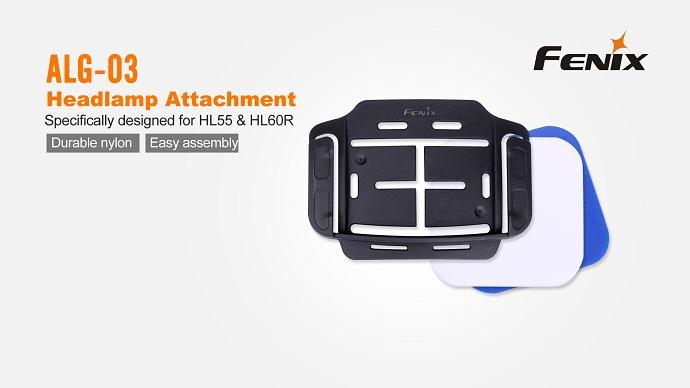Imagine Fenix Suport Alg - 03 Pentru Fixare Lanterna Frontala  Hl55 Hl60r