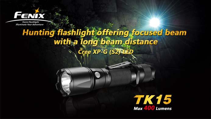 LANTERNA MODEL TK15 XP-G S2