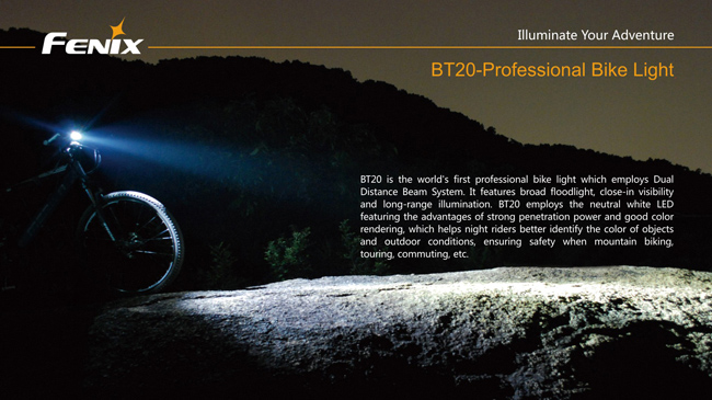 Imagine 399.01 lei, FENIX Lanterna Pentru Bicicleta Model Bt20