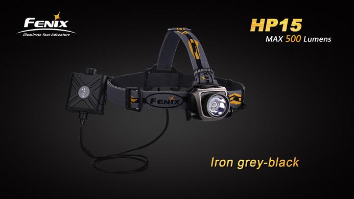 LANTERNA FRONTALA MODEL HP15 XM-L2 (T5) - GRI