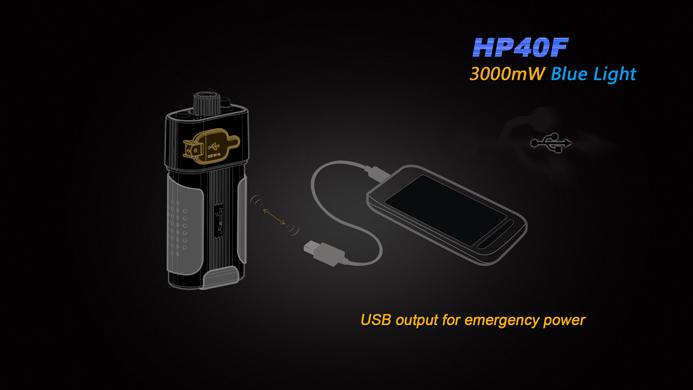 Imagine 399.01 lei, FENIX Lanterna Frontala Model Hp40f Xp-e2 M3 Led, Xp-g2