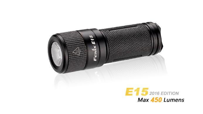 LANTERNA MODEL E15 XP-G2 (R5) - MODEL 2016