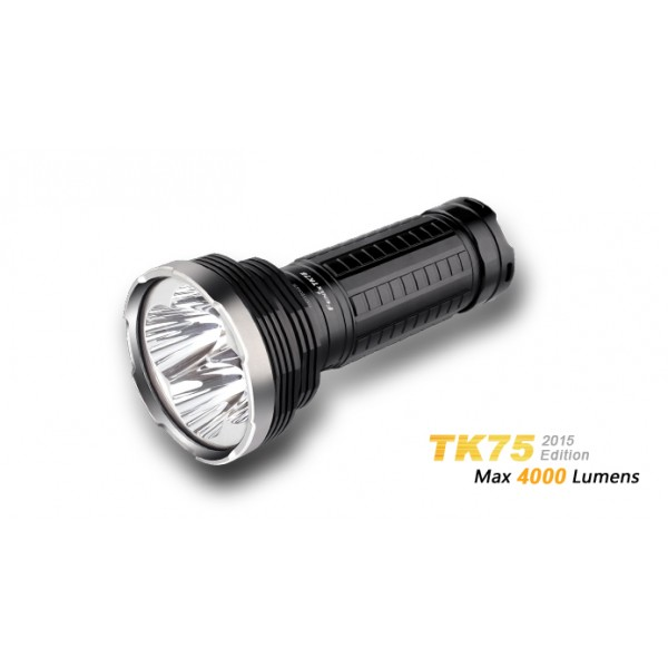 LANTERNA MODEL TK75 - 4CREE XM-L2 U2 - MODEL 2015