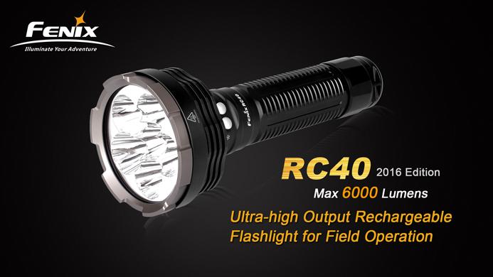 Imagine  1699.0 lei, FENIX Lanterna Reincarcabila Model Rc40 Xm-l2 (u2)