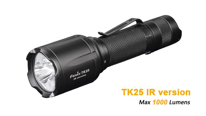 LANTERNA MODEL TK25IR XP-G2 S3