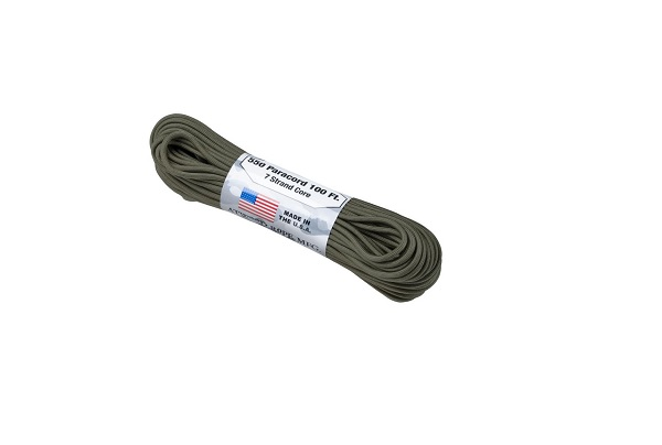 SNUR PARACORD - 550LBS. - OLIVE GREEN