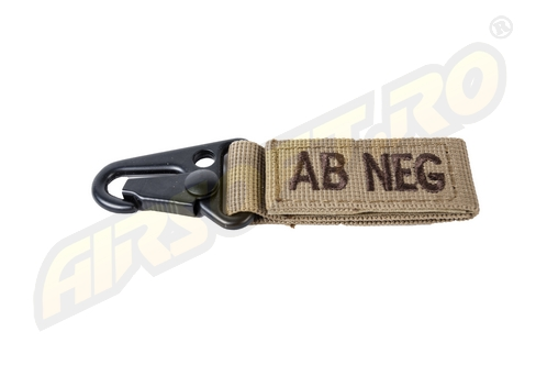 Carabiniera Grupa Sanguina Ab-Negativ - Tan imagine
