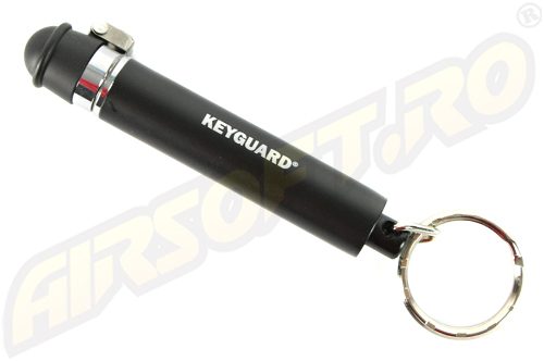 SPRAY IRITANT LACRIMOGEN MODEL KEYGUARD - BLACK - 4 G