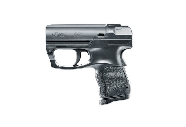 PEPPER GUN - WALTHER PERSONAL DEFENSE PISTOL - BLACK