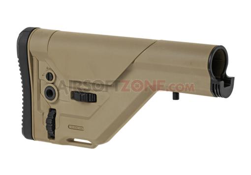 Imagine Ics Uksr Sniper Stock Pt, M4  - Tan