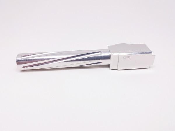 Teava Externa Pentru G17/G18c - Tip Twist - Silver imagine