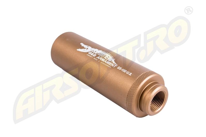 Amortizor Desert Ss-100 -CROCODILE- Cu Filet De 14mm.(CCW) imagine