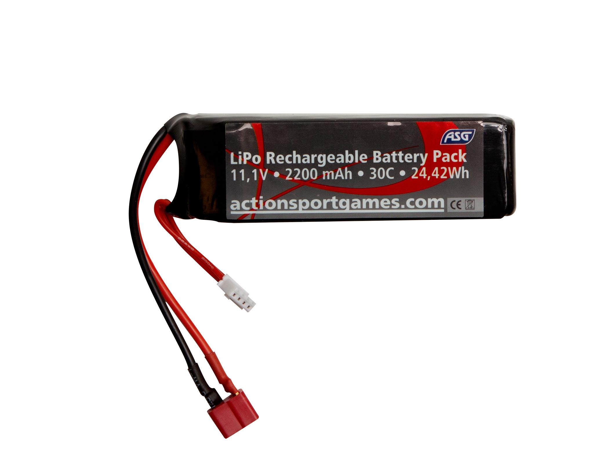 Li-Po - Acumulator 11.1v - 2200 Mah - 30c - T-Plug imagine