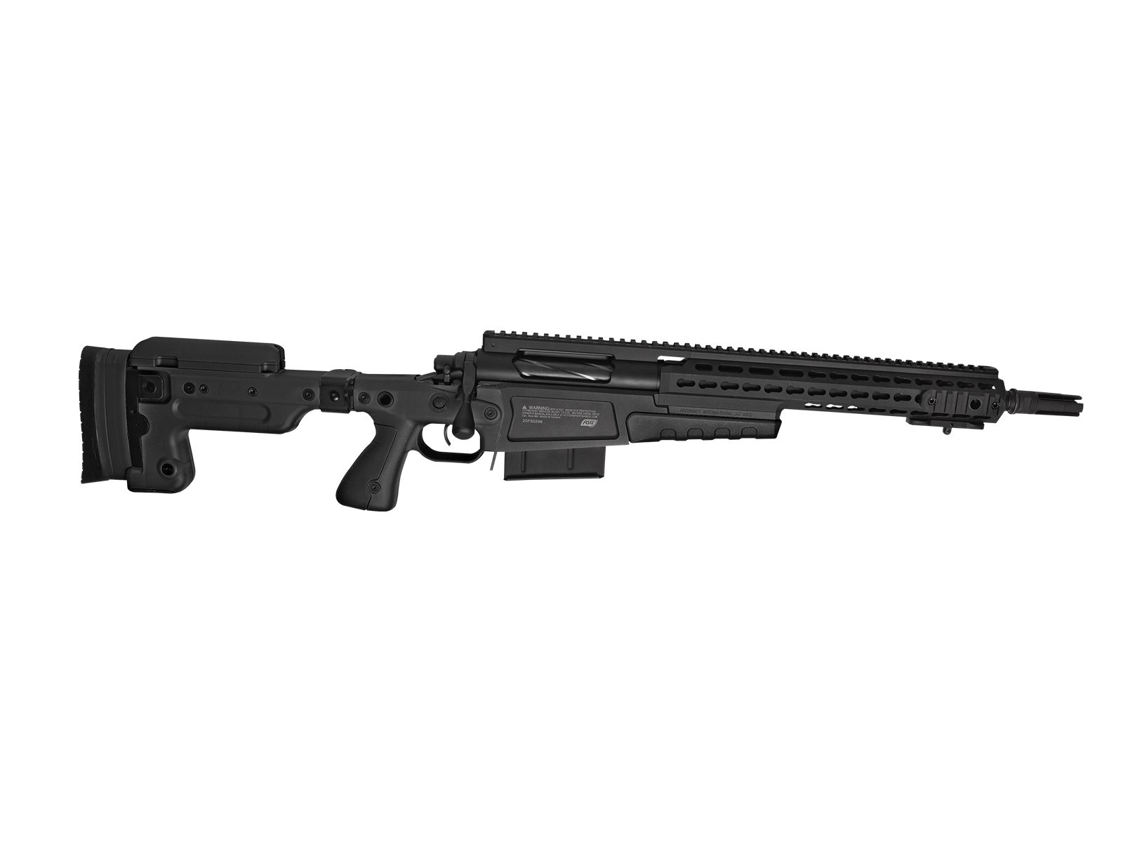 Imagine  2990.0 lei, ASG Ai Mk13, Compact Sniper Rifle, Spring, Black