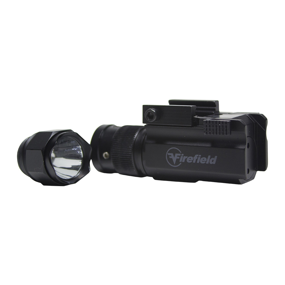 Imagine Firefield Interchangeable Tactical Flashlight And Green Laser Pistol Kit