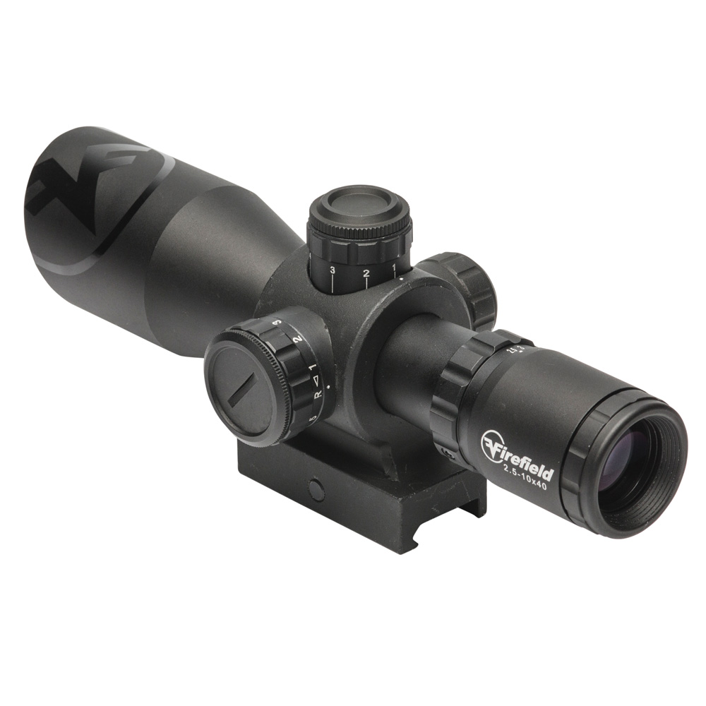 Imagine 569.0 lei, FIREFIELD Barrage Riflescope- Red-green Mil-dot Illuminated Reticle