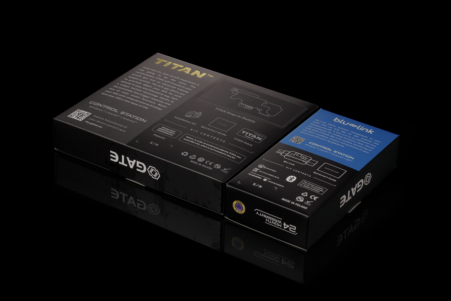 Imagine 1250.0 lei, GATE Mosfet Titan V2 Ngrs Expert Blu-set