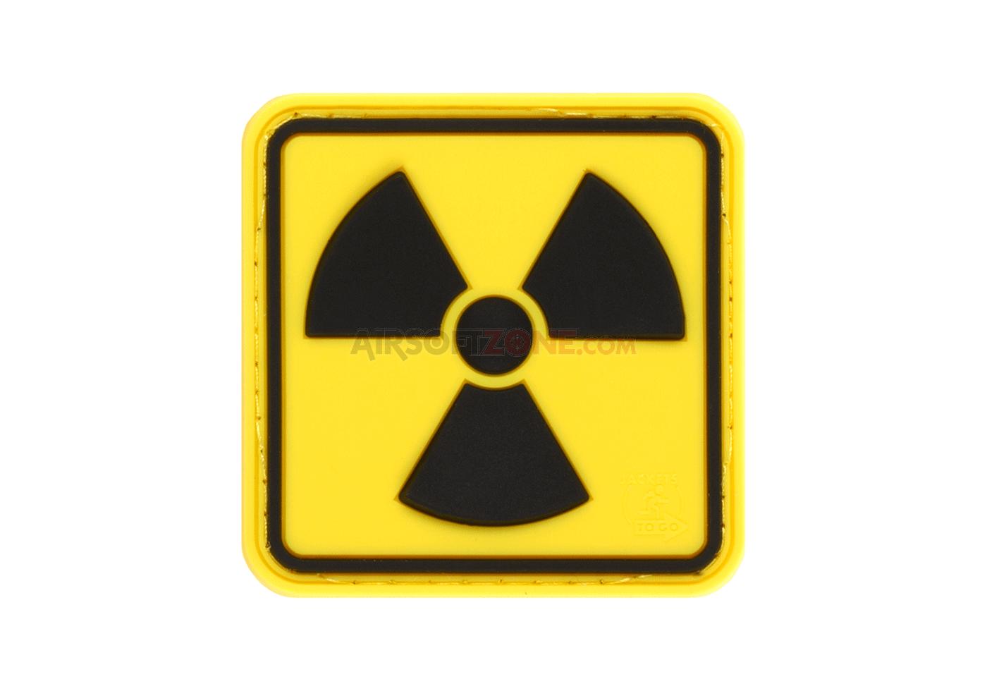 Patch Cauciucat - Radioactive - Color imagine