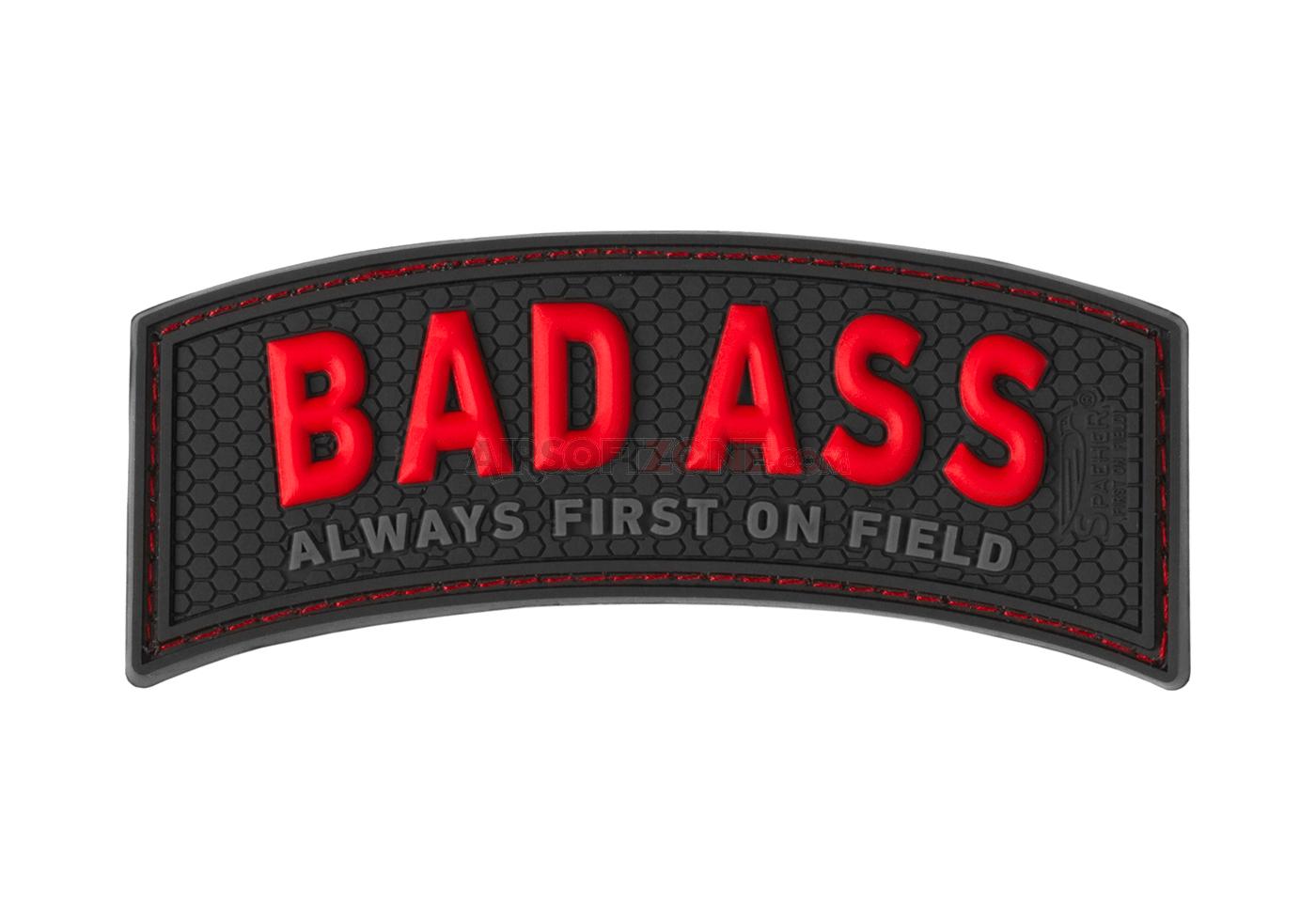 Patch Cauciucat - Bad Ass - Color imagine