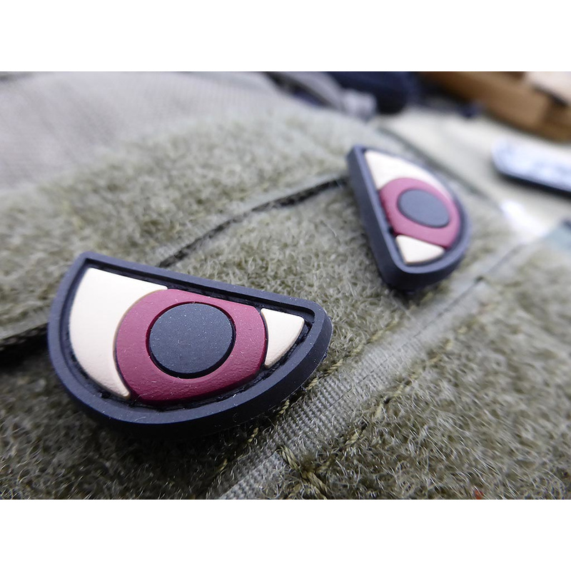 Patch Cauciuc - Angry Eyes - Color imagine