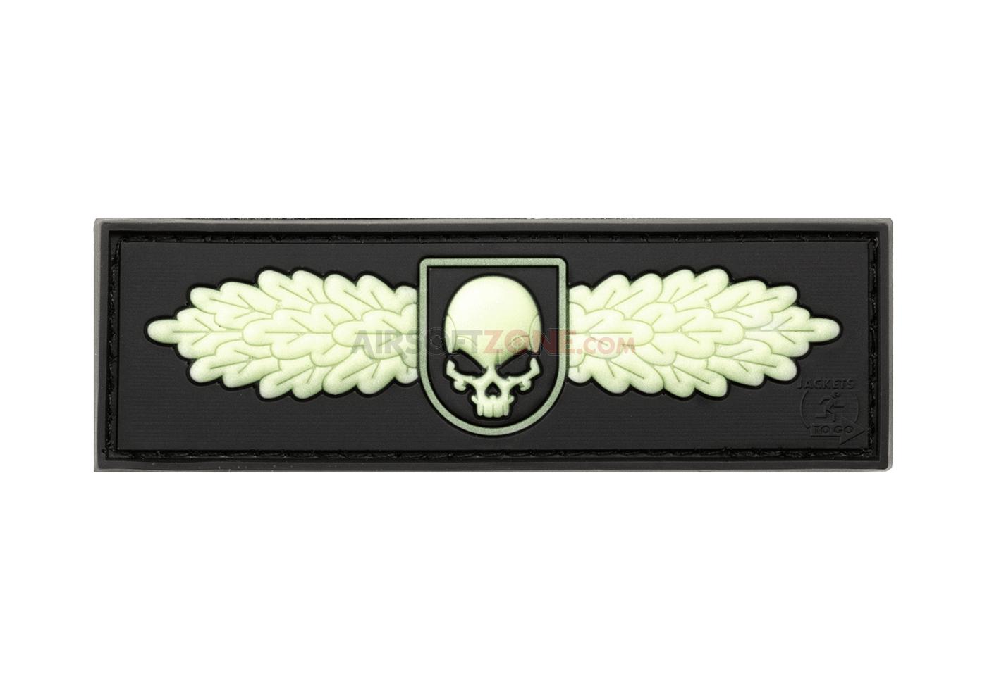 Patch Cauciucat - Sof Skull Badge imagine