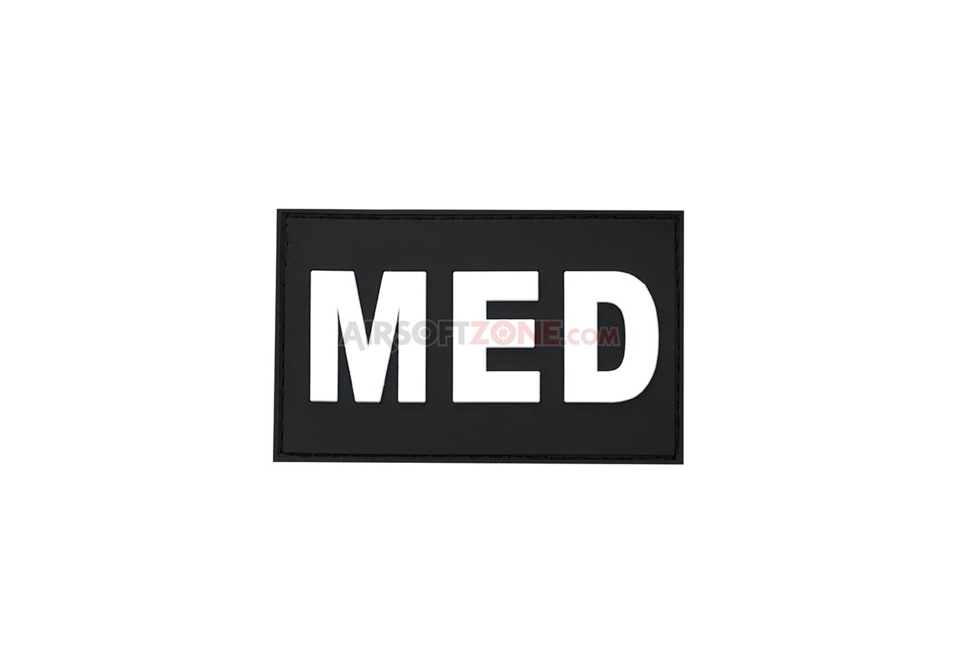 Patch Cauciucat Mesaj - Med - Swat imagine