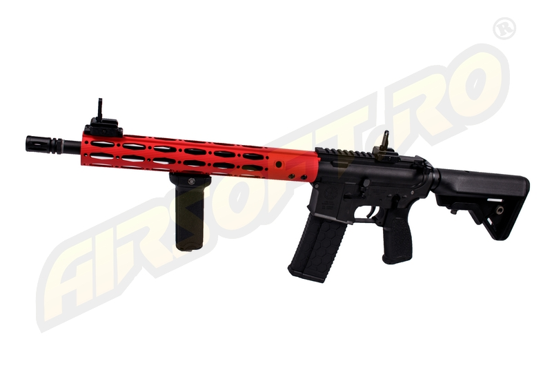 Imagine 1076.0 lei, EVOLUTION AIRSOFT Ergo M4 Carbine Gi Red Lone Star Edition, 14.5 Inch