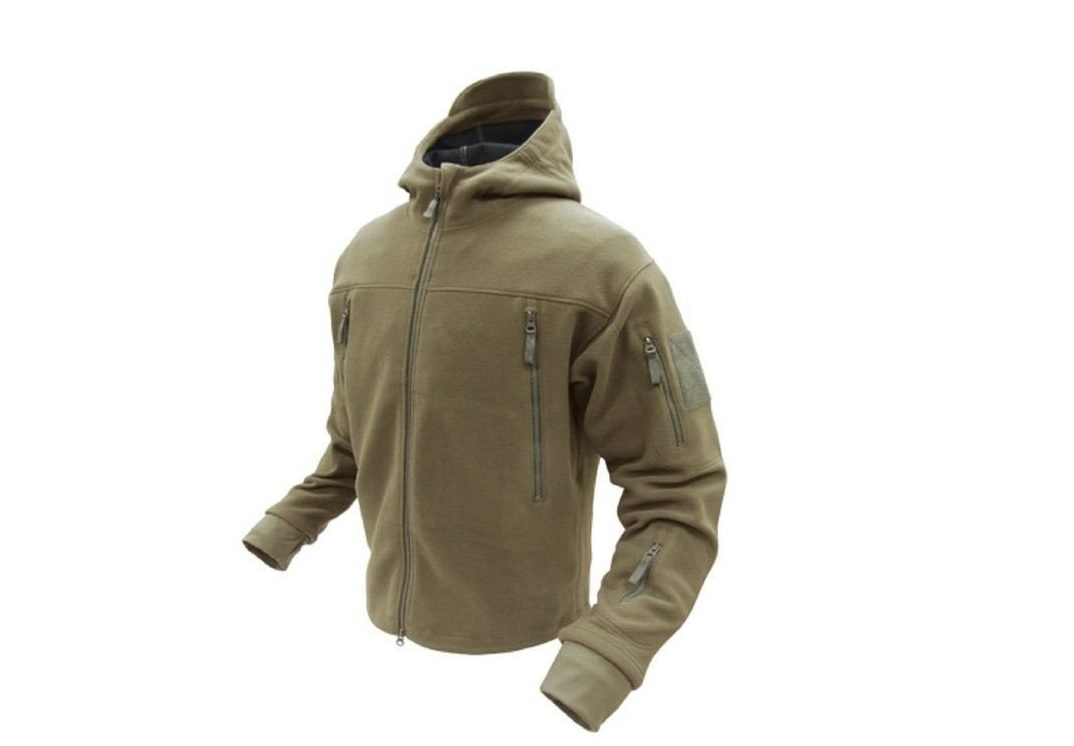 JACHETA SIERRA FLEECE - TAN