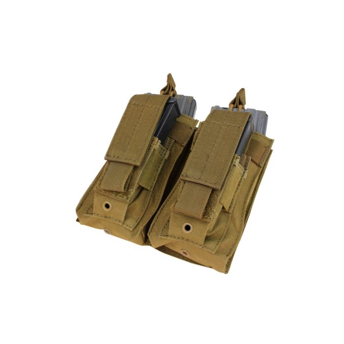 Double Kangaroo Mag Pouch - Coyote Brown imagine