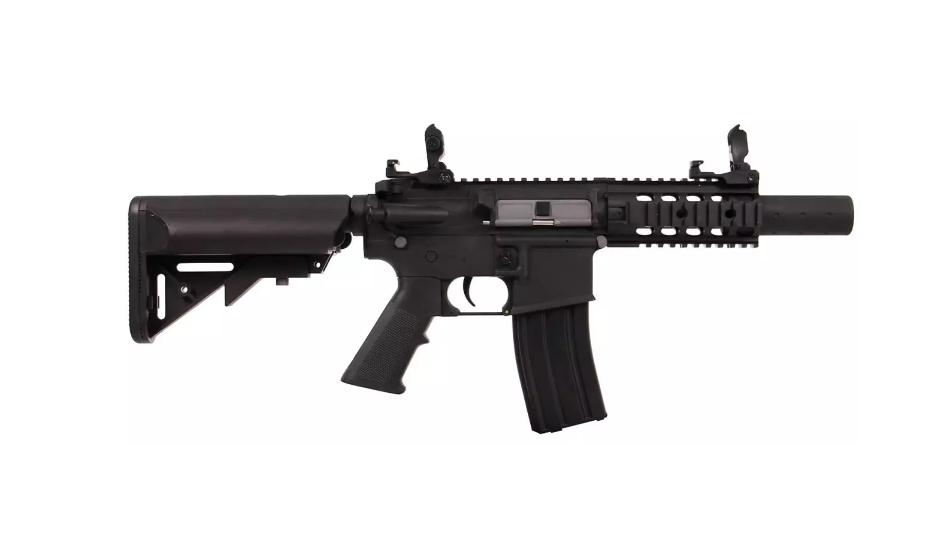Imagine Cyber Gun Colt M4  - Special Forces Full Metal Mini Black