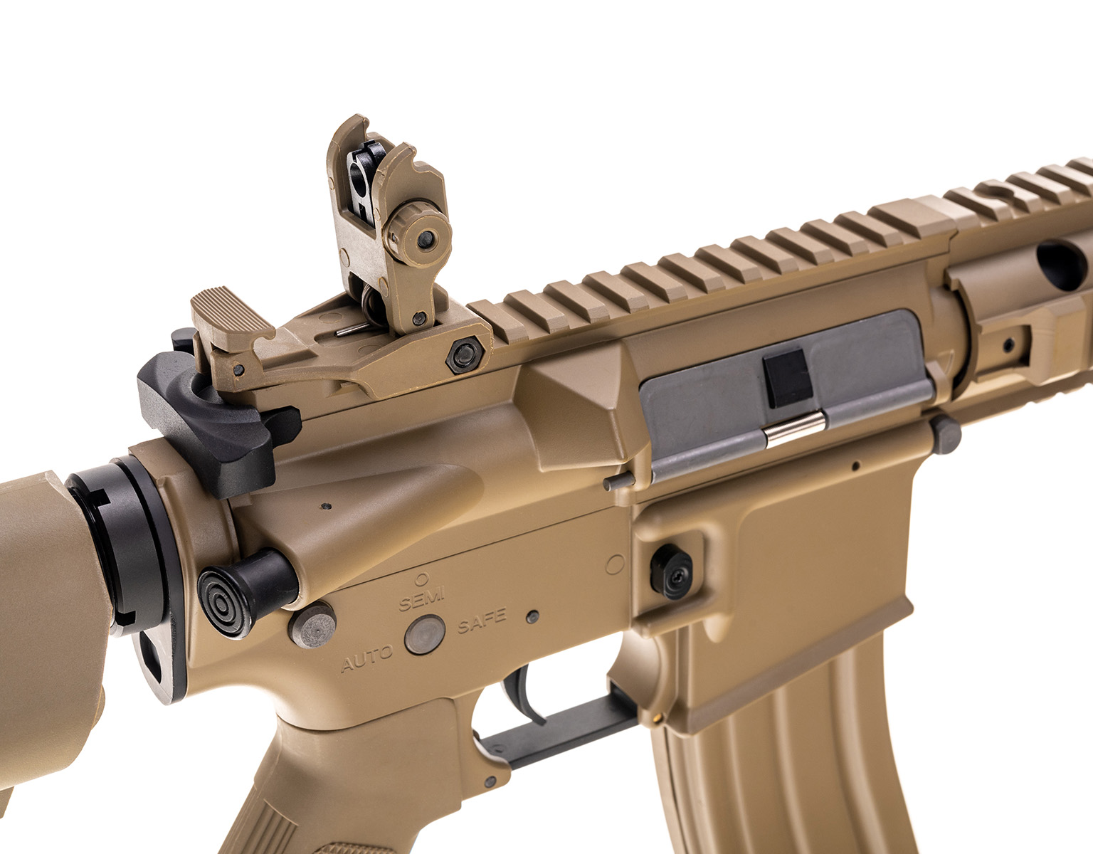 Imagine Cyber Gun Colt M4  - Special Forces Full Metal Mini Tan