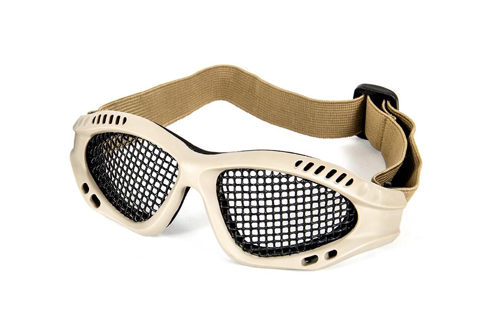 Zero Steel Mesh Glasses - Tan imagine