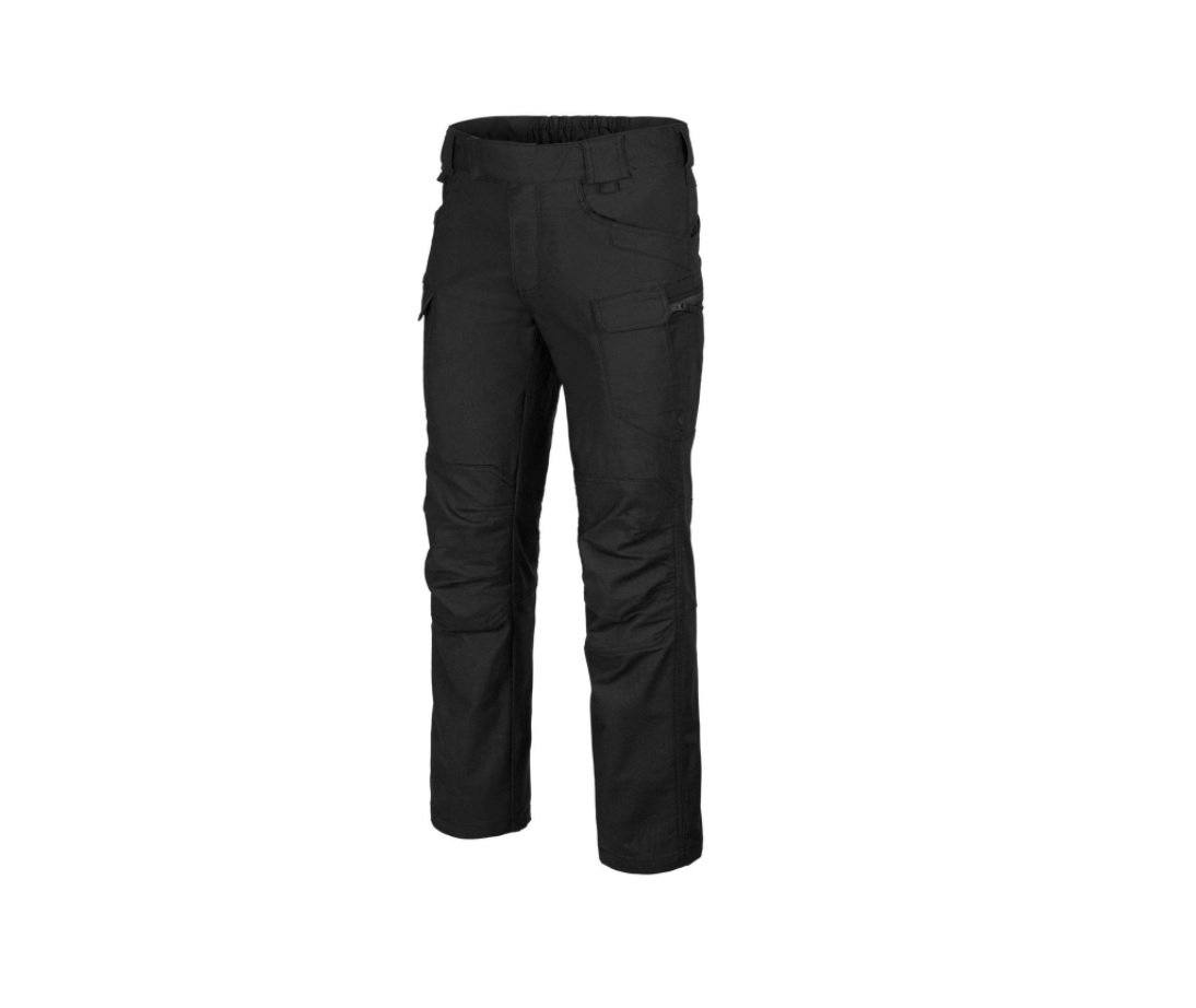 Pantaloni Model Utl Polycotton Canvas - Black imagine