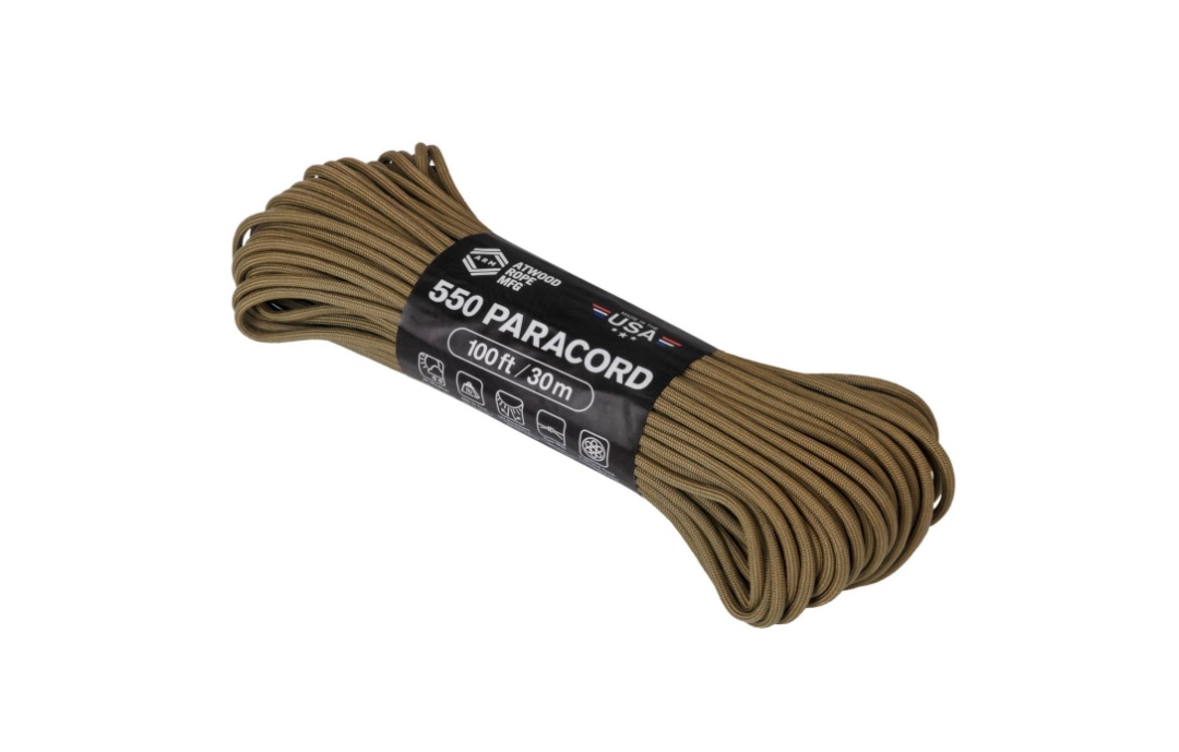 Paracord Model 550 - 30 M/100 Ft - Coyote imagine